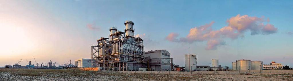 GAS POWER SYSTEMS CATALOG I POWER PLANTS LESS SITE TIME, LESS RISK Time is precious, so meeting plant construction milestones is critical to project success.