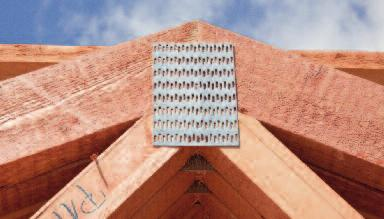 OPITZ supplies the entire construction industry as well as private clients: nailplate constructions, from roof trusses for family homes and apartment houses to