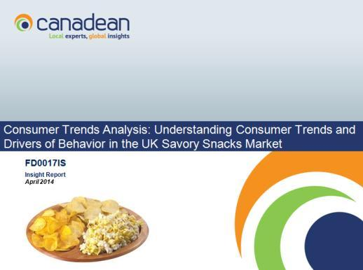 Related reports Consumer Trends Analysis: Understanding Consumer Trends and Drivers of Behavior in the UK Savory Snacks Market As a consequence of the recessionary environment in the country,