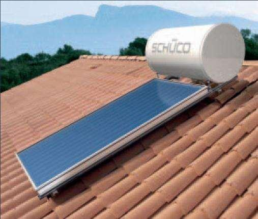 Passive Solar Water Heating Thermo-siphon