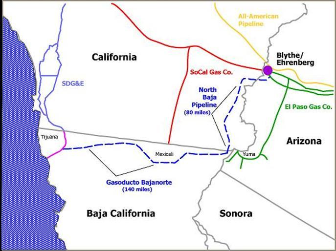 Baja California Is Gas From Baja LNG
