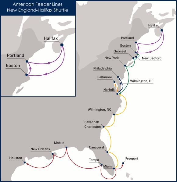 American Feeder Lines American Feeder Lines will build, own, and operate
