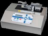 MEASURING DEVICES APT-100 The APT 100 is a device for measuring tensile strength of seals made on medical bags.