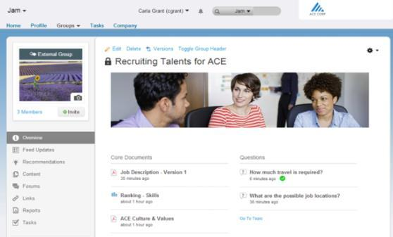 Collaborative recruiting Shorten recruiting cycles and speed time-to-hire