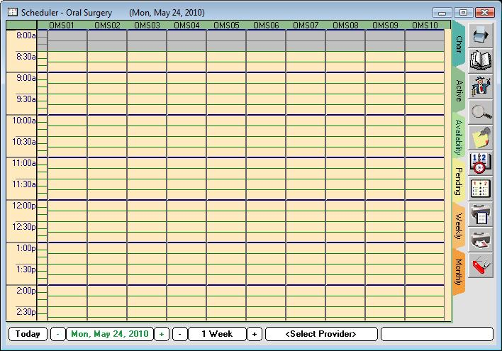 Introduction The axium Scheduler book mode is a scheduler view setting used for making and changing appointments.