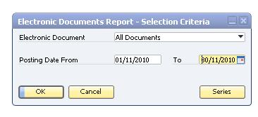 ... How to Implement and Use Electronic Documents with SAP Business One Creating the Report of Generated Invoices The taxing authority SAT requires companies to send a monthly list of generated