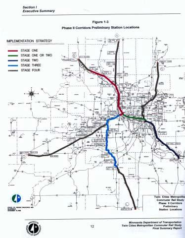 Highway 61 South/Red Rock Commuter Corridor Human/Passenger System Red Rock Minneapolis and St.