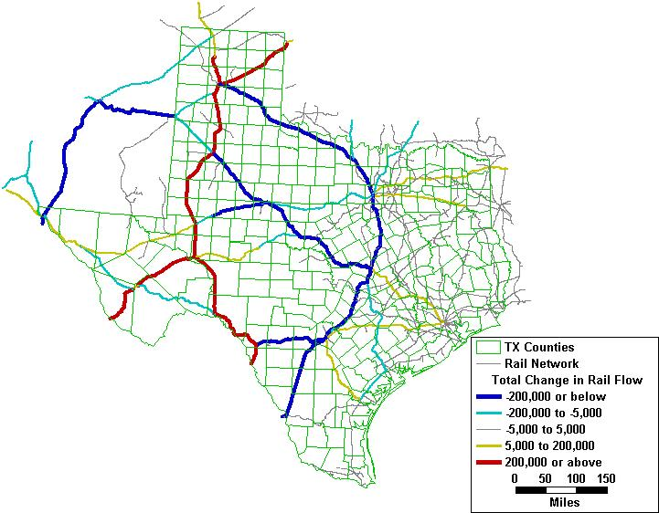 Source: ORNL Rail Network Routing 2 Route Diversions on Rail Network