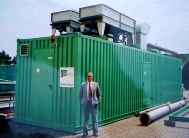 larger Carbon Footprint Gas Fired Power Gen 1 MW + 20% Line Loss