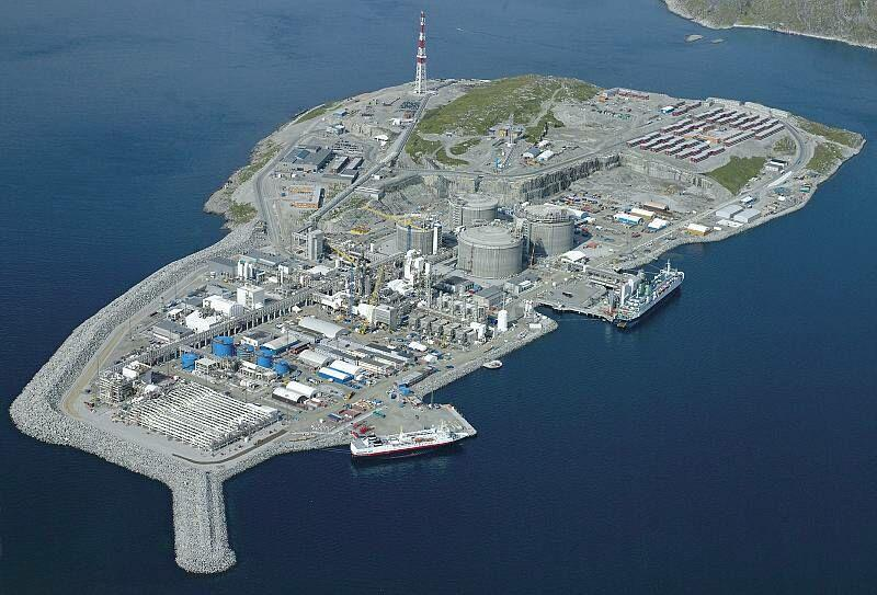 StatoilHydro Snøhvit Plant Europe's first LNG