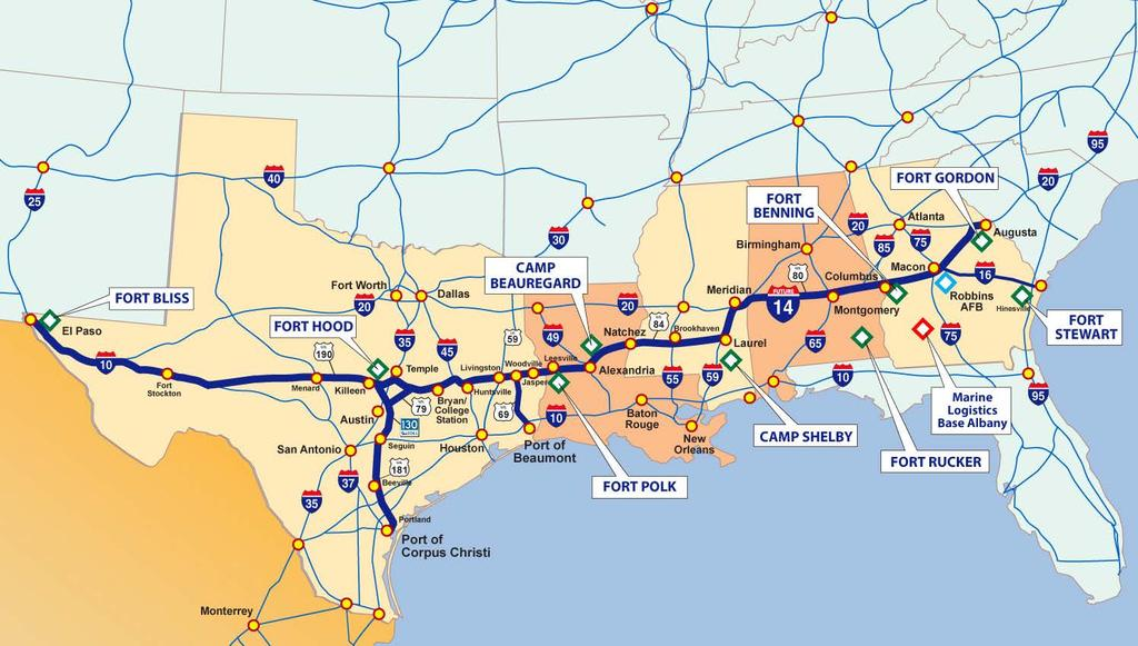 Map Of Interstate 69 In Texas.Building Interstate 69 As A Series Of Upgrade Projects Pdf