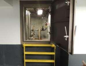Boilers on top floor Fuel tanks in basement (40,000 gallon total) Serve