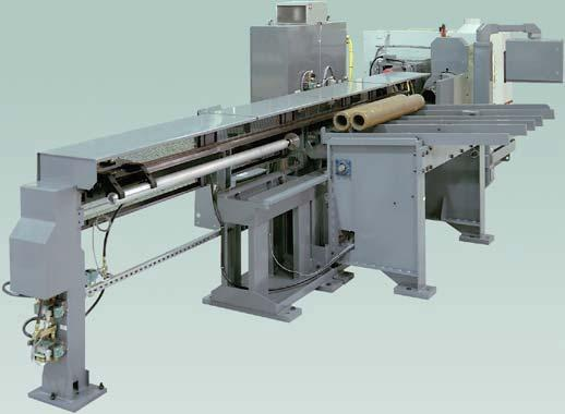 requirements. Long tubes and bars are supported with the loading table steady rest system.