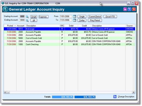 Brokers Plus System Features 58 7.4 Invoice History 7.5 Reports 7.5.1 Cash Forecast 7.5.2 Open Payables 7.