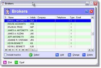 Brokers Plus System Features 64 9.5.