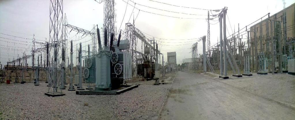 Transformer (GST) Substation in Najibiyah Power Station Basrah - IRAQ.