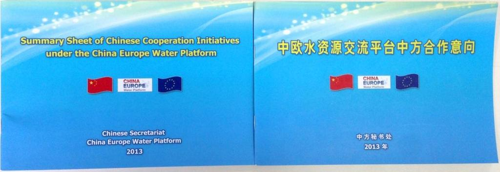 Background Cooperation initiatives collection in Jan. 2013 within water sector institutions.