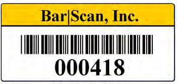 We also provide internal inventories of personal computer equipment using a variety of diagnostic products. We can provide implementation and inventory services on a national basis. BarScan, Inc.
