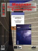 RESELL ITEMS 2009 Masonry Codes and Specification Compilation Available #9620S09 List $159.00 ICC Member $143.00 ISBN: 9780940116054 Published by MIA and co branded with TMA and ICC.