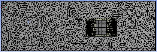 MESHING,SETUP AND BOUNDARY CONDITIONS The meshing was performed using ANSYS mesh module on 4 GB RAM Core i5 2450M processor windows 7 64 bit PC.