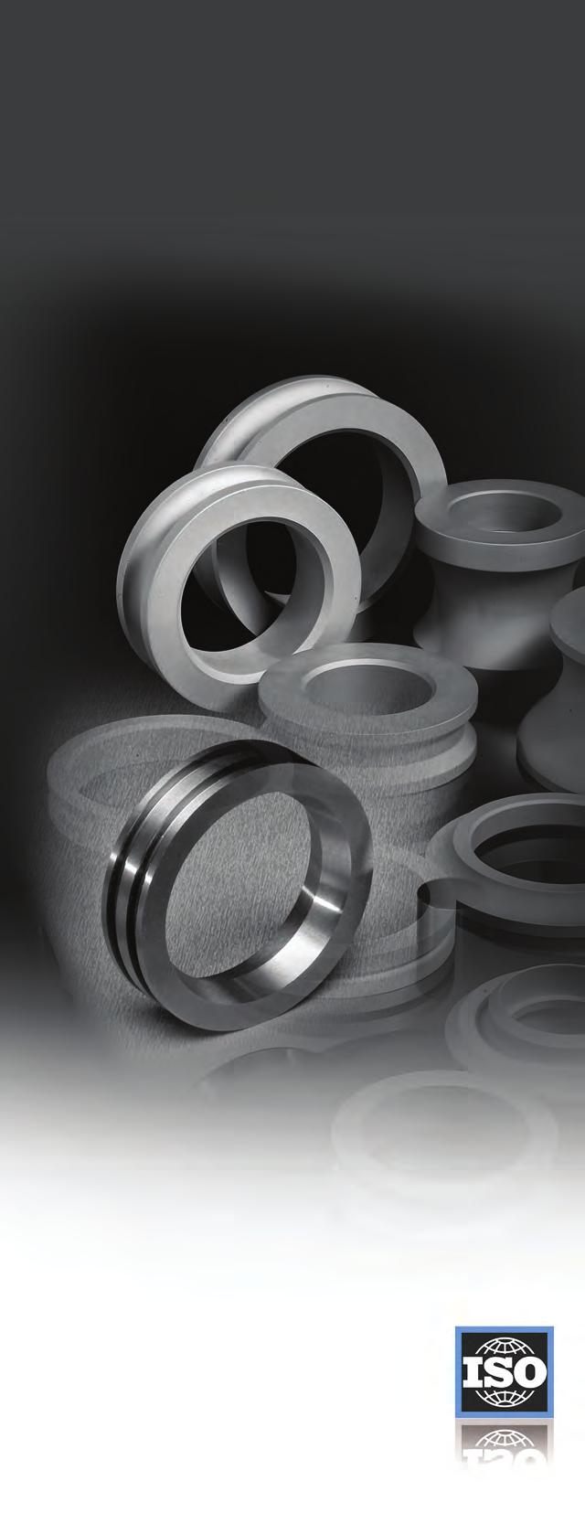 DESIGNING FOR CARBIDE Solutions for industry specific requirements Cemented carbide is a unique blend of fine grain tungsten carbide powder and a small amount of binder material, usually cobalt, also