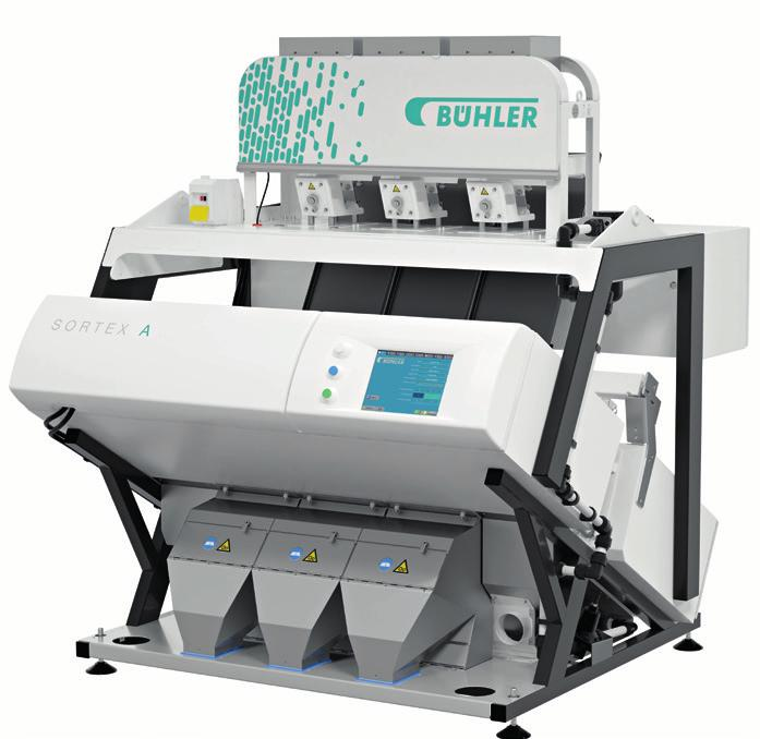 The winning combination of Bühler s proprietary technologies ensures the accurate removal of contaminants in the smallest of PET and HDPE flakes for higher recovery and increased profitability.