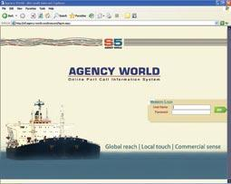 Through this you are able to appoint Port Agents globally online and see your vessel s port call progress at all ports on a single screen.