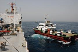 range of husbandry and operational support to vessels engaged in installation, survey and other offshore work