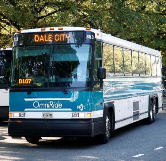 new/expanded routes with up to 13,400 forecasted daily riders VDOT/DRPT will have