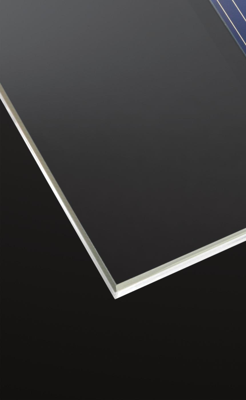 Combined with the excellent durability of glass, SUNMAX is the product of choice for photovoltaic modules, thermal collectors and solar mirrors.