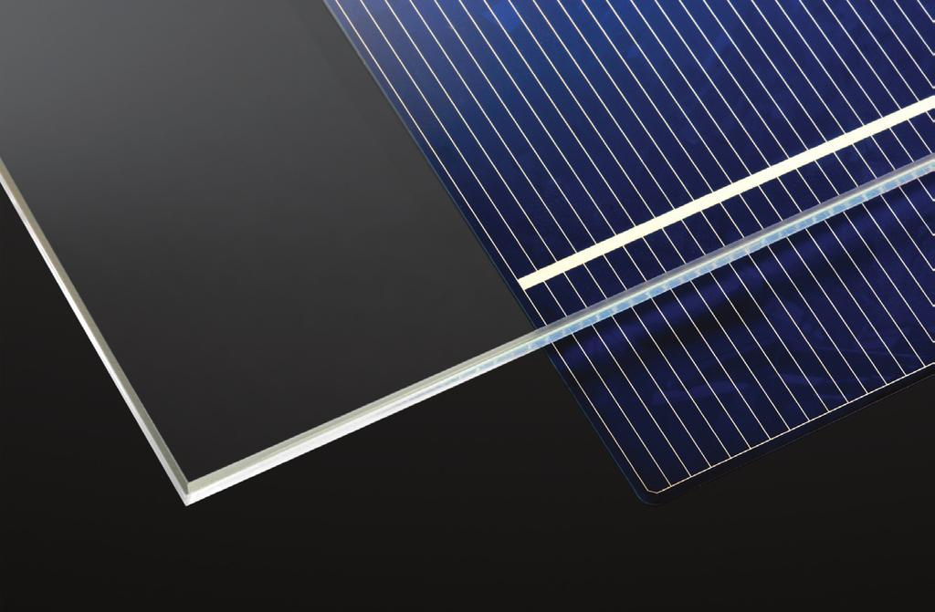 2mm glass samples Transmission (%) 91 87 83 79 75 0 500 1000 1500 2000 2500 Wavelength (nm) AGC Solar has a long history as a key player in the