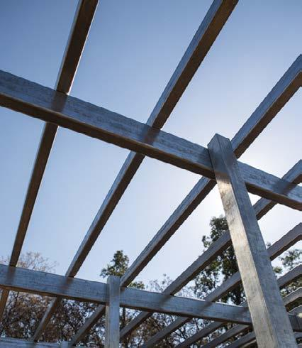 The G-STRUCT framing system is a maintenance-free, pre-galvanised steel solution that offers the highest performance when it comes to strength, stability and durability.