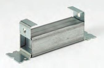 After forms are dismantled, the channel nut can be installed and the rod fastened to the nut. The rod should touch the inside top of the insert. Approvals: Underwriters Laboratories Listed.