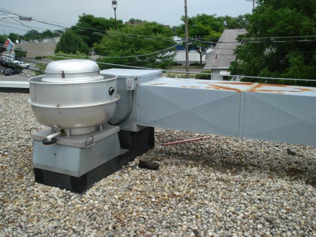 7.0 Ventilation 7.1 Description: There are several exhaust fans on the roof.