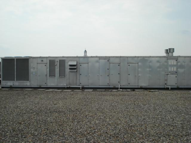 roof-mounted, gas fired, heating (electric cooling) units.