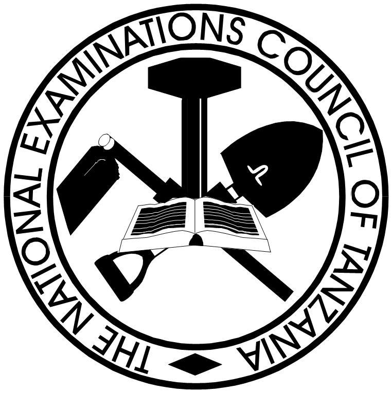 THE NATIONAL EXAMINATIONS COUNCIL OF TANZANIA EXAMINERS REPORT ON THE