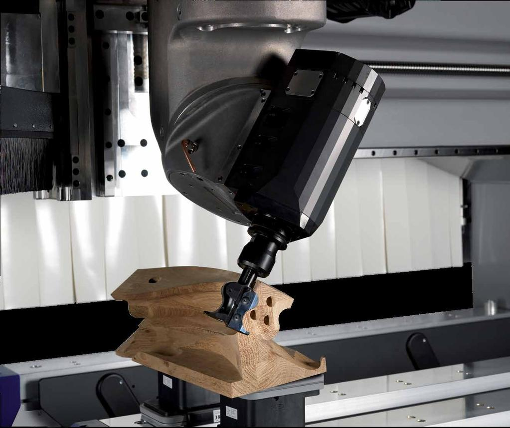 Multi-Axis Machining Alphacam Supports Routers With Fully