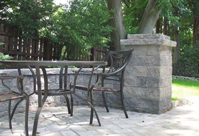 Landscape Retaining Wall Freestanding