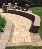 Landscape walls which are normally below three feet and serving the purpose of Planting beds, leveling slopes and Creating raised patios and living spaces outdoors.