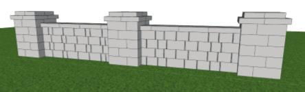 FREESTANDING WALL UNDER 36 This Chapter starts at the foundation in this page we show the correct
