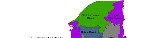 Watersheds of NYS NYS has 17