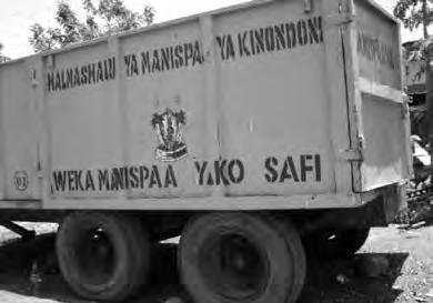 2. An overview of solid waste management in Dar es Salaam city 41 since anyone can dump waste of any kind which attracts scavengers, this eventually increases the cost of collection and