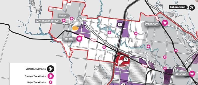 The Melbourne West Growth Corridor Plan The draft Melbourne West Growth Corridor Plan makes provision for over 2,000 gross hectares of industrial land.