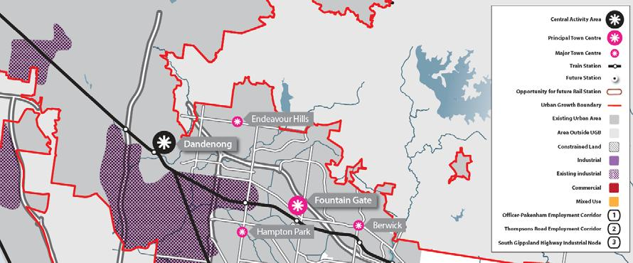 The Sunbury Growth Corridor Plan The draft Sunbury Growth Corridor Plan provides for 210 gross hectares of additional industrial