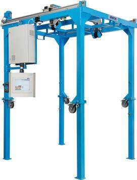 DWS Pallet Track and trace systems A B C D E F H I J K L M N O P Q R S T 4 MEASURING AND WEIGHING PALLETS AND OTHER BULKY FREIGHT ITEMS Additional information Detailed technical data.