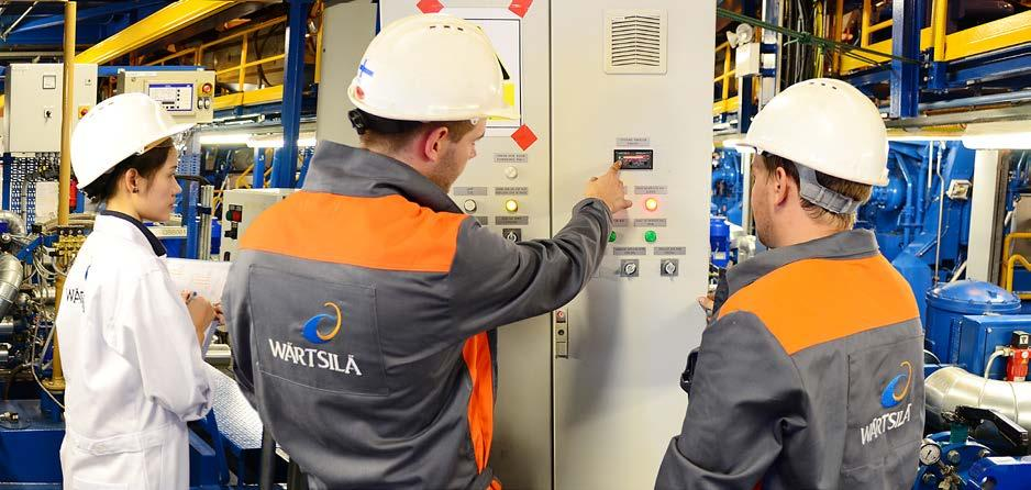 Wärtsilä is a global leader in advanced technologies and complete lifecycle solutions for the marine and energy markets.