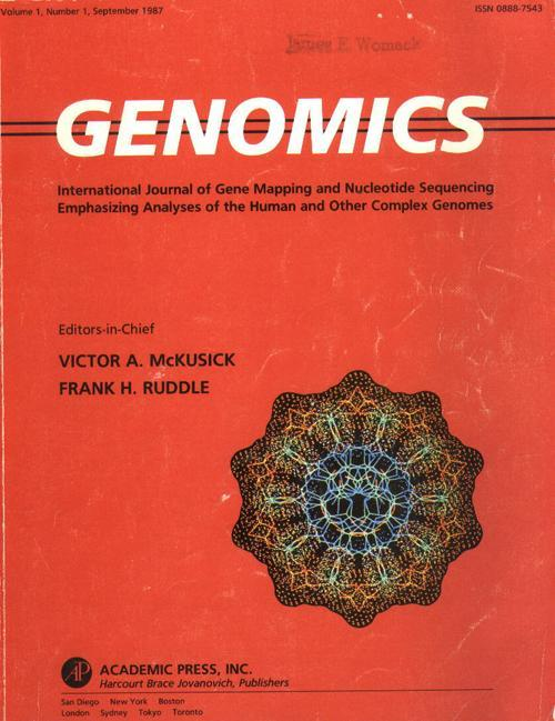Genome, a word coined in 1920 by Hans Winkler (U. of Hamburg botanist) from a hybrid of gene and chromosome: to describe all the genes on a haploid set of chromosomes.