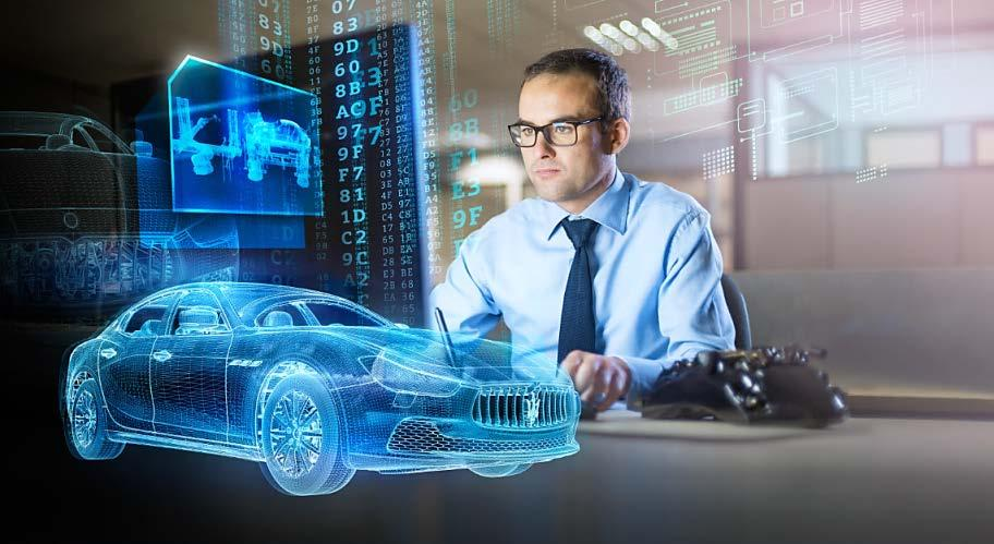 Vertical software Maserati relies on Siemens software to produce the Ghibli model Digital twin of the product and