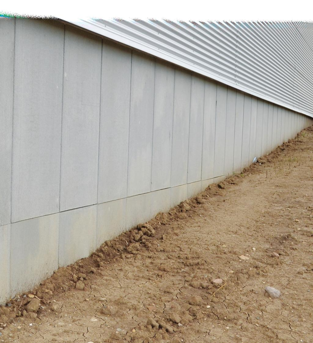 WallGUARD Concrete Faced Insulated Perimeter Wall Panels Durability. Sustainability. Energy Efficiency.
