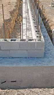 Depending on the local environment, concrete should also be protected from